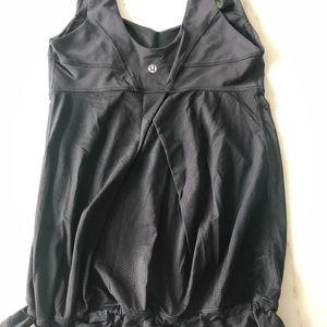 Lululemon Black Tank, Size 4